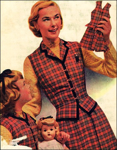 1952 cover of Fashion Sewing On a Budget