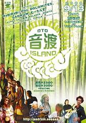 """Oto island on Sadoiland"" flyer"