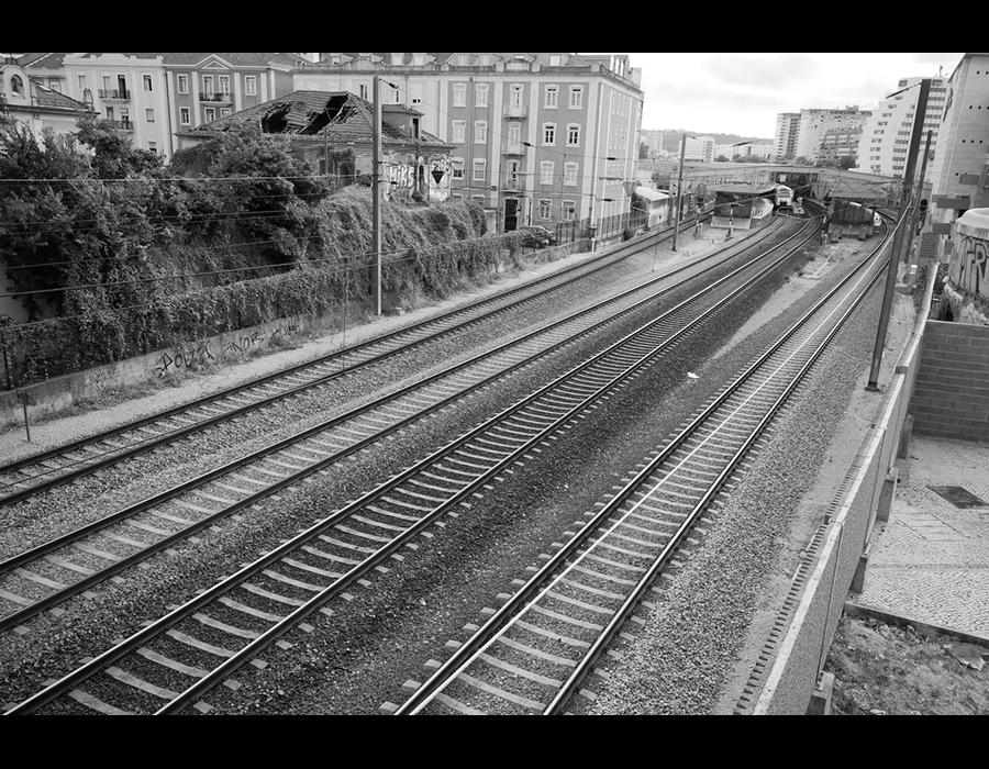 Linhas de caminho de Ferro em Entrecampos
