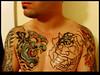 japanese demon tattoo Session 3 on