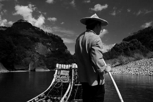 九曲溪竹筏 (by Audiofan)