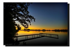 Sunset @ Lake Staffel (Klaus_GAP - taking a timeout) Tags: longexposure blue sunset orange lake tree reflections geotagged bayern bavaria pier colorful soe murnau staffelsee golddragon mywinners platinumphoto anawesomeshot impressedbeauty theunforgettablepictures goldstaraward damniwishidtakenthat guasdivinas murnauamstaffelsee