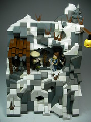 Journey to Shangri La (Crimson Wolf) Tags: nepal snow expedition lego explorer