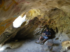 Cave dwellin (San Lorenzo Park, California, United States) Photo