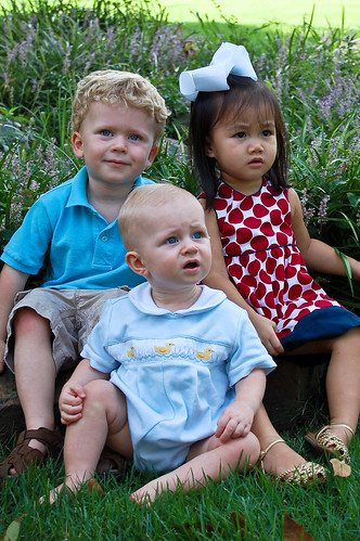 John, Wyatt and Lucy