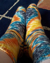 Therapy socks completed