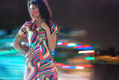 The Urban Jungle (Fayyaz Ahmed) Tags: bridge pakistan portrait fashion night nikon sublime karachi flyover kpt fayeza