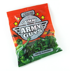 Albanese Gummi Army Guys Package