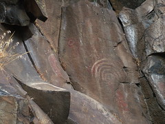 Rock Forms (rooftop65) Tags: rock basalt petroglyphs washingon horsethieflakestatepark