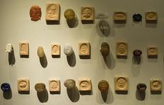 Sasanian seals (Nickmard Khoey Historical Archive) Tags: iran iranian persia persian sasanian sasanid imperial bm britishmusuem seals seal sealings wwwnickmardcom nickmard