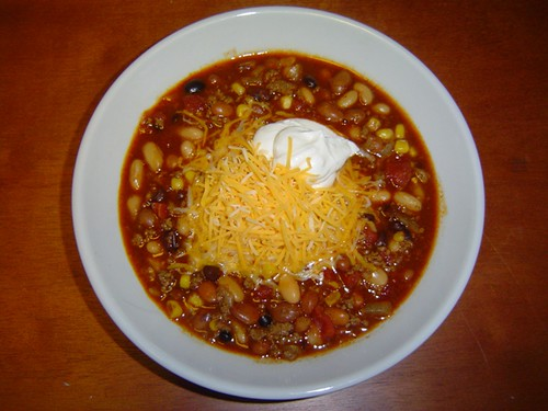 Leann's 5 Bean Slow-Cooker Chili
