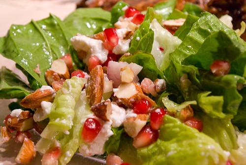 Nutty Pomegranate Salad