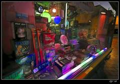 Gadget Shop in Oostende (rjt208) Tags: lighting shop night canon dark square disco effects eos lights evening floor belgium dusk main laser gadget oostende selling ostend 400d rjt electrionics rjt208