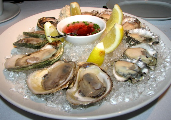 Blue Water Oysters