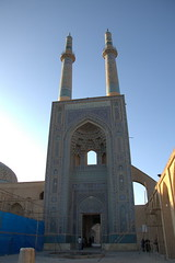 Jameh mosque of Yazd (Arash_Khamoosh) Tags: mosque yazd   canon1785isusm  thejmehmosqueofyazd jmehmosque