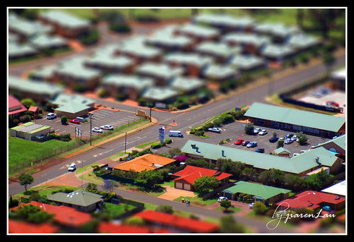First Tilt-shift miniature fake