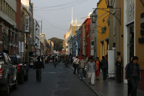 Trujillo main drag...