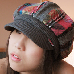 Colorful Checkered Cap (Nikita Hengbok) Tags: hat caps headgear impressedbeauty ladiescaps fashioncaps