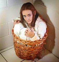It's the Little Things (AArchibald) Tags: portrait basket laundry warmtones mywinners diamondclassphotographer aarchibald theunforgettablepictures ilooklikeahamsterp irememberwheniusedtobeabletohideunderthelaundrybaskets