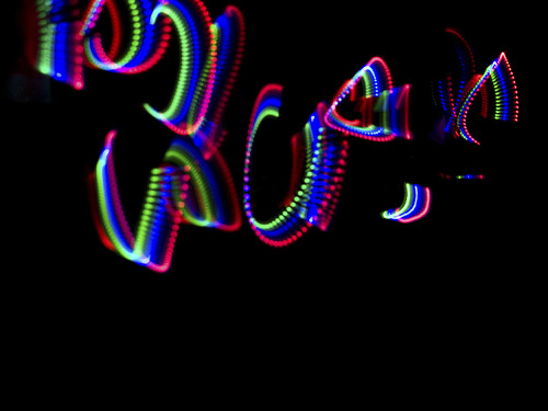 More funky light trails