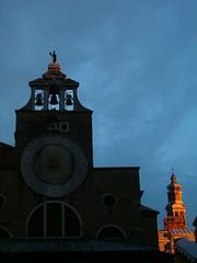 Tramonto a Rialto (Claudio) Tags: venice tramonto venezia rialto veneto sanpolo sangiacometto campanilesansalvador