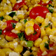Corn Salad with Tomatoes & Feta