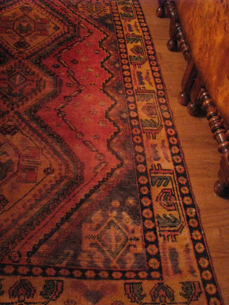 Antique Shiraz Persian Rug - Iran
