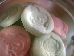 Peppermint / Rose sweets