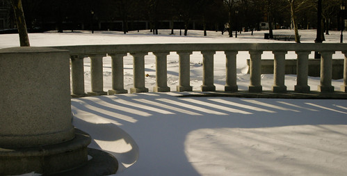 Snow and shadow patterns