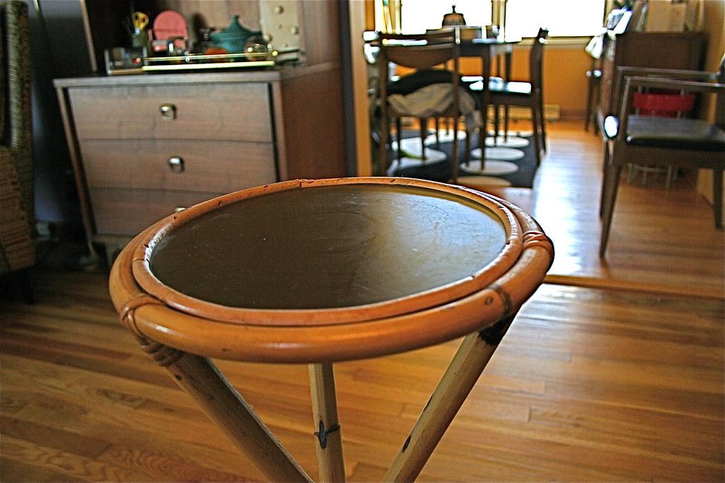 Rosenthal Netter Rattan Table 08