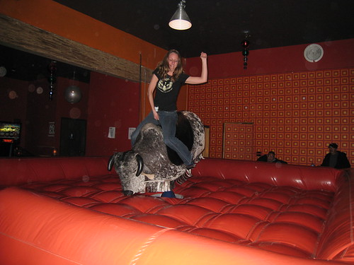 Mec. Bull riding at U-31
