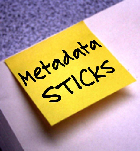 Metadata sticks