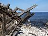 (__marvin) Tags: blue sea coast ship sweden schweden baltic creativecommons hulk wreck stranded ostsee schooner schiff wreckage öland wrack schiffswrack swix gestrandet trollskogen swiks schoner
