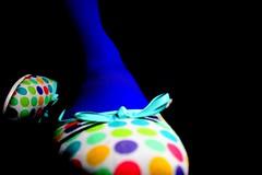 The colourful side of the dark (Honey Pie!) Tags: shadow dark shoes sombra polkadots bolinhas escuro sapatos sapatilhas bolinhascoloridas colourfulpolkadots