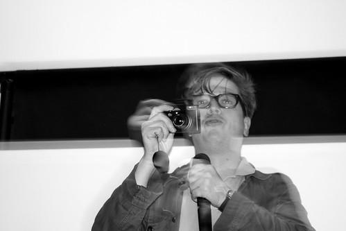 Tomas Alfredson flashes his Leica