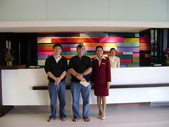 Ubon Sunee Grand Hotel Front Desk