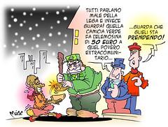 La lega tassa gli extra'riccastri'
