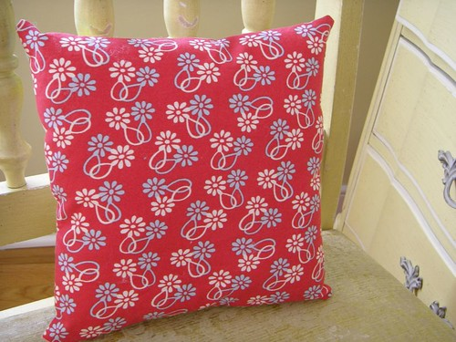 birthday pillow - back