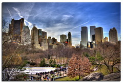 A Winter in Central Park (DP|Photography) Tags: nyc winter centralpark newyorkskyline centralparksouth dri hdr centralparkne