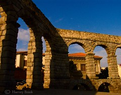 Segovia Aquaduct 8 (Harvey Brink - Canadian Visuals) Tags: otw paintingwithlightandshadows