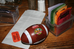 A Major Prize (greyaenigma) Tags: toy football bubblegum