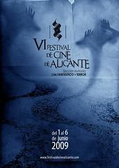 Cartel del VI Festival de Cine de Alicante