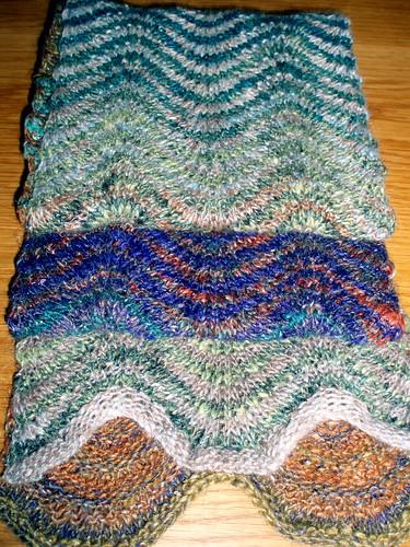 Parquet scarf