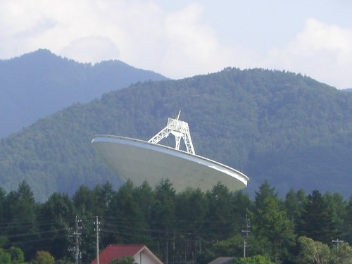 国立天文台野辺山のパラボラアンテナ/Parabolic antenna of the Nobeyama Radio Observatory