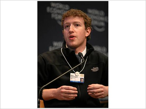 WORLD ECONOMIC FORUM ANNUAL MEETING 2009 - Mark Zuckerberg by World Economic Forum.