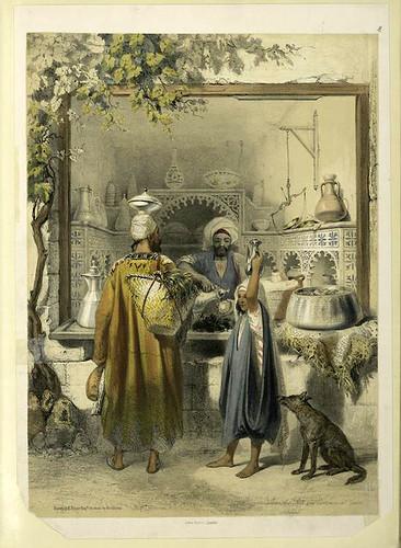 Vendedor de aceite en el Cairo 1851