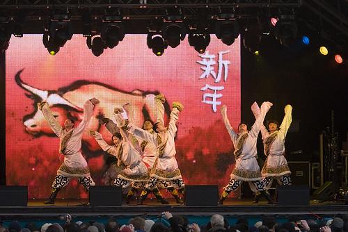 Londra festival - capodanno cinese trafalgar square