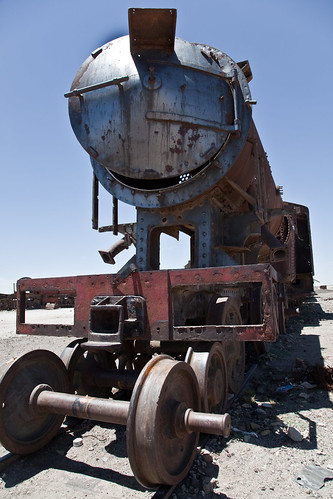 Uyuni Train Cemetary