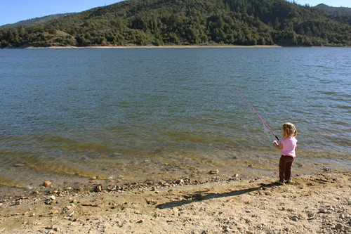 Big Lake, Little Fishergirl