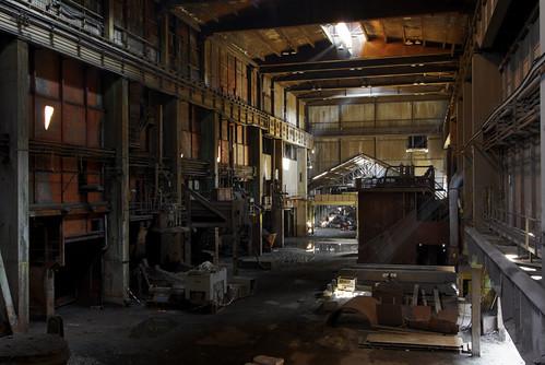 Stahlwerk Stahlhalle